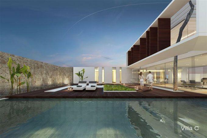 Jesolo Lido Pool Villas, Italy jm architecture Casas