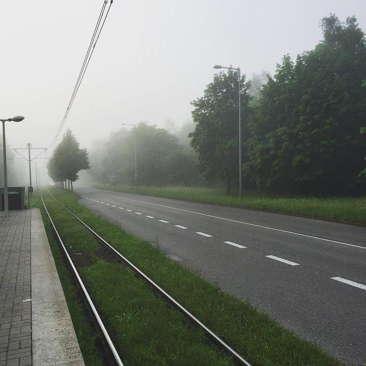 Stuttgart heut morgen...  #nebelig #Stuttgart #Stuggi #0711 #gutenmorgen #morgens #montag #ubahn #arbeitsweg #