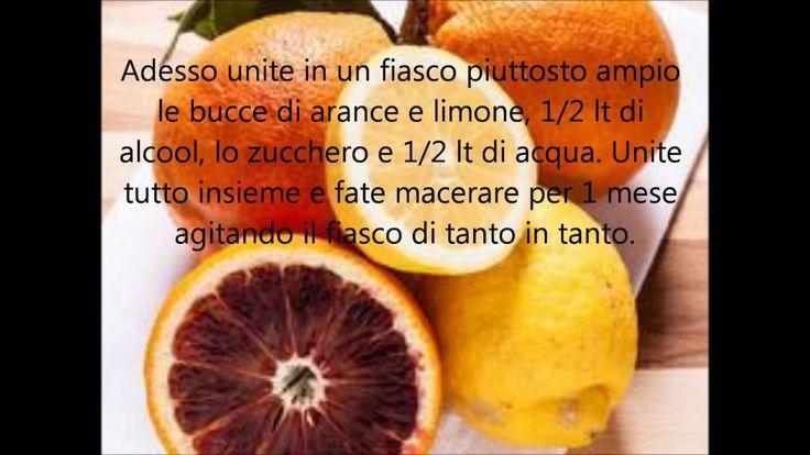 Liquore Aurum + Bibita analcolica di limoni e arance 'Oggi cucino io' ri...
