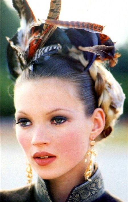 Kate Moss photographed by Arthur Elgort for Vogue Italia, October 1992 (one of my favourite editorial shots ever)