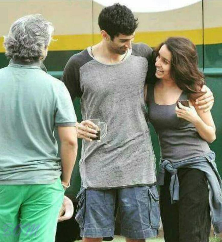 Aditya Roy Kapur with Shraddha Kapoor First Look in OkJanu