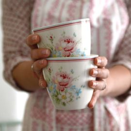 Latte Cup Marie White