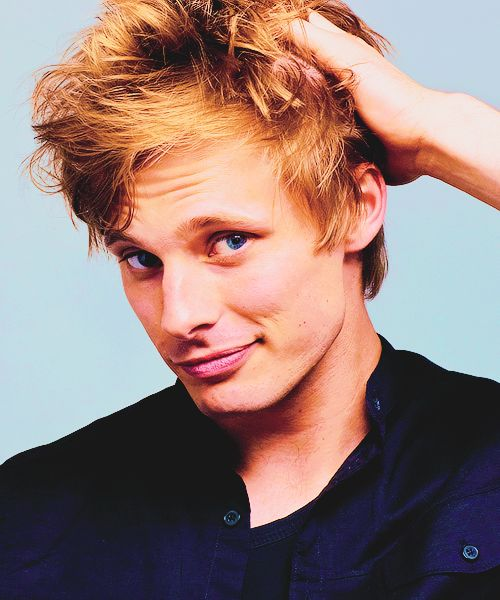 Bradley James. ❤ Think I've pinned this before.  But who can resist repining this hunk again