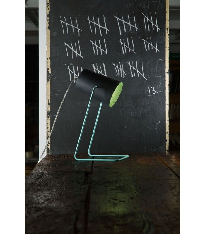 In-es.artdesign - lampada da tavolo effetto lavagna Paint T #inesartdesign #artdesign #nebulite #design #lamp #madeinitaly#tablelamp #light #slate