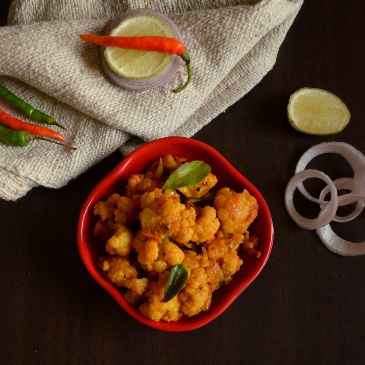 Cauliflower Poriyal | South Indian style Gobi ki sabzi | Gobi ki Sabji