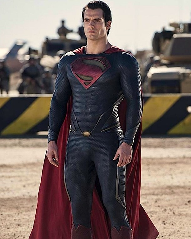 Henry Cavill in Superman - Man of Steel..