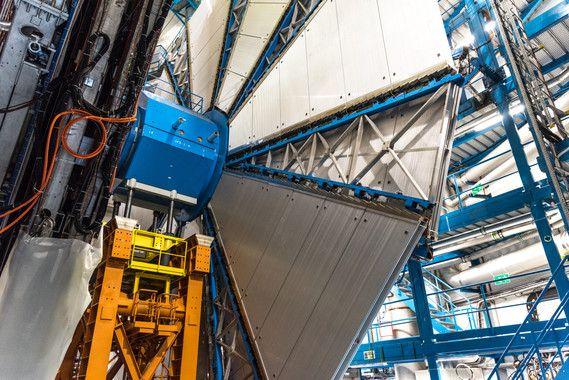 <p>Experimento ATLAS del gran colisionador de hadrones (LHC). / CERN</p>