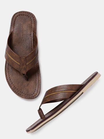 336cc2077e0 Roadster Men Brown Comfort Sandals Roadster Sandals at myntra