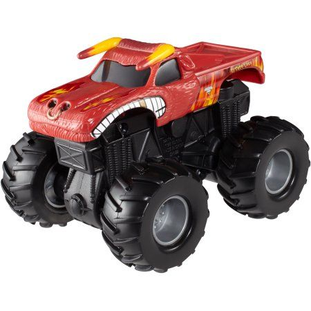 Hot Wheels Monster Jam Rev Tredz El Toro Loco