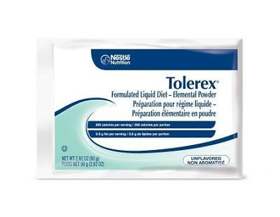 2.82 oz Tolorex 300 Cal Unflavored Powder - Pack of 60 GREAT VALUE PACK!