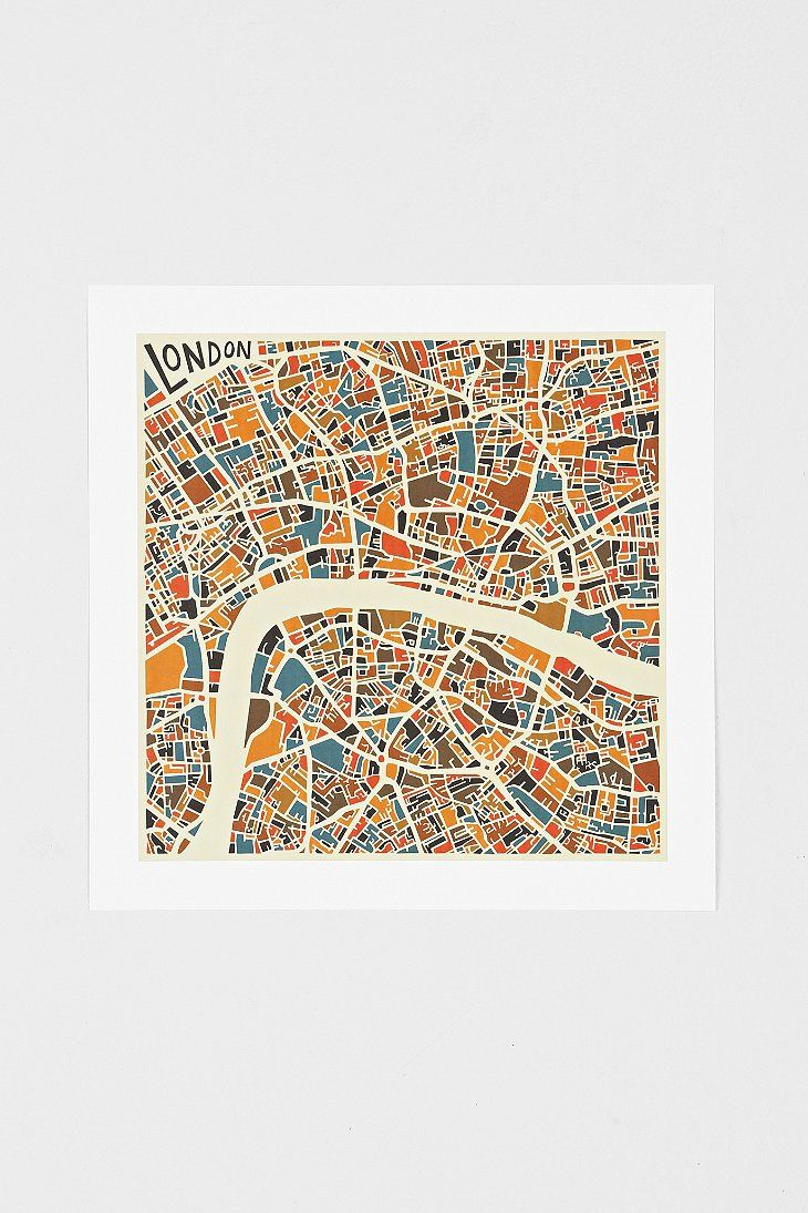 Jazzberry Blue London Art Print