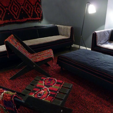 17 best images about by caravane chambre 19 on pinterest. Black Bedroom Furniture Sets. Home Design Ideas