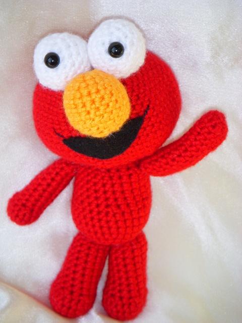 Elmo Doll Knitting Pattern : 17 beste afbeeldingen over crochet, knitting op Pinterest ...