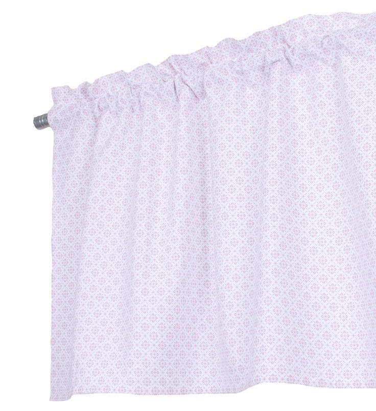 Rosa gardinkappa som även finns osm sängkläder och gardiner http://www.ambinesshome.se/product.html/gardinkappa-metervara-elin-rosa?category_id=103