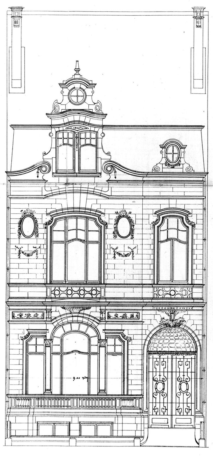 Best Architectural Drawing Images On Pinterest Architectural