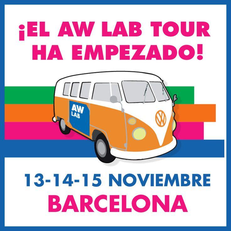 ¡El AW LAB Tour ha empezado!