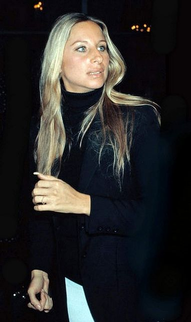 streisand...my favorite look of hers...classic 70s!! b♡