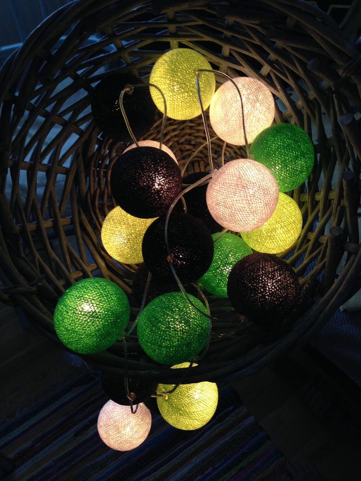 #cottonballights #cottonballs#fairtrade#belysning#harmoni#home#hjem#inredningsblogg#inredningstips