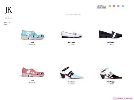 Tienda online de la marca de calzado femenino Jessica Kessel Shoes