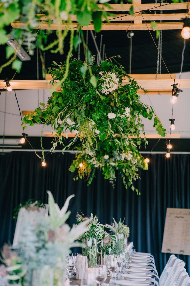 Festoon lighting.  Adorn Event Styling@Tailrace Centre