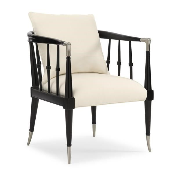 Black Beauty : Caracole Upholstery : LIVING - CHAIRS : UPH-CHAWOO-54B | Caracole Furniture