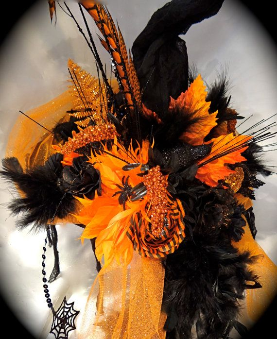 The Witch's Inn Halloween Hat OOAK by Marcellefinery on Etsy, $82.00