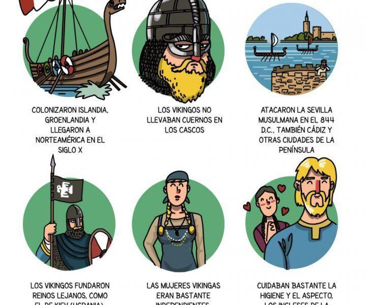Vikingos E1517220829980 Edad Media Historia De Espana Recuerdos De La Infancia