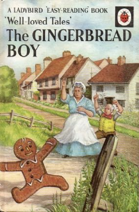GINGERBREAD BOY Vintage Ladybird Book Well Loved Tales Series 606D Matt Hardback 1967