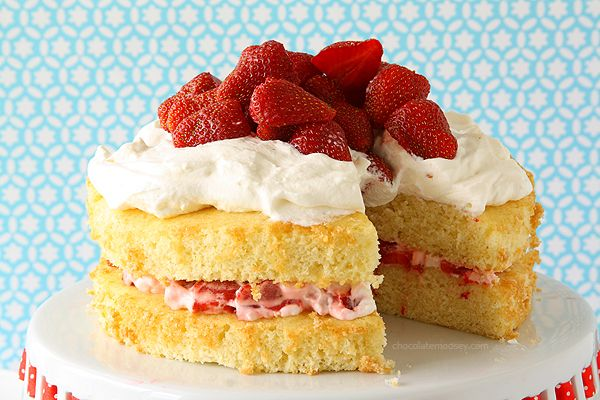 Layered Strawberry Shortcake Recipe on Yummly. @yummly #recipe