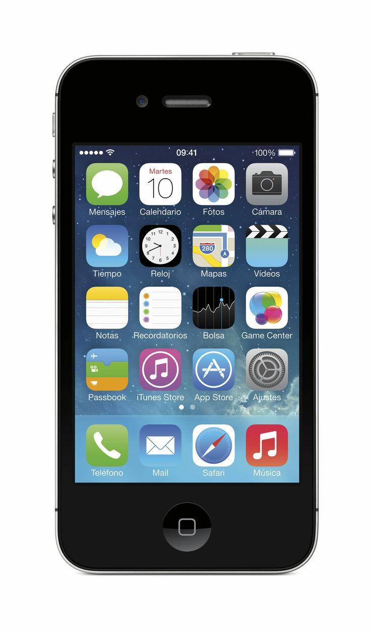 #iPhone #4S #negro #Apple