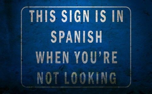 spanish.  こいつ絶対スペイン語書けないよ。