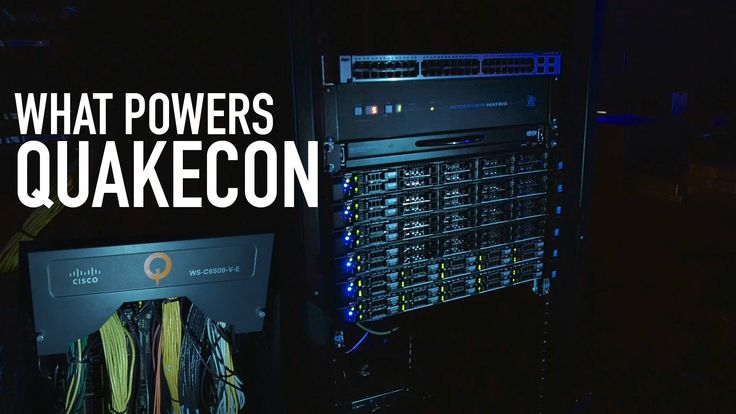 What Powers Quakecon | Network Operations Center Tour
