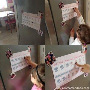 calendrier ecole maternelle imprimer gratuit Calendrier de la semaine d'école à imprimer http://allomamandodo.com/le-calendrier-de-la-semaine-decole-imprimer-cadeau/