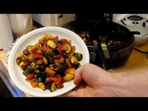 Tefal ActiFry 2in1 - Ofengemüse // Pfannengemüse Rezepte (Weight Watchers geeignet) // Deutsch - YouTube