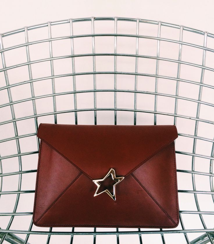 Tiffany Star Vitello Burgundy / bag star /