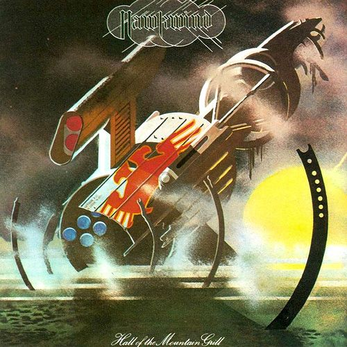 Hawkwind - Hall of the Mountain Grill - Loved this LP as a kid.