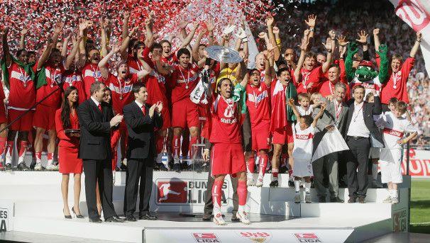 Deutscher Meister 2007. VFB Stuttgart