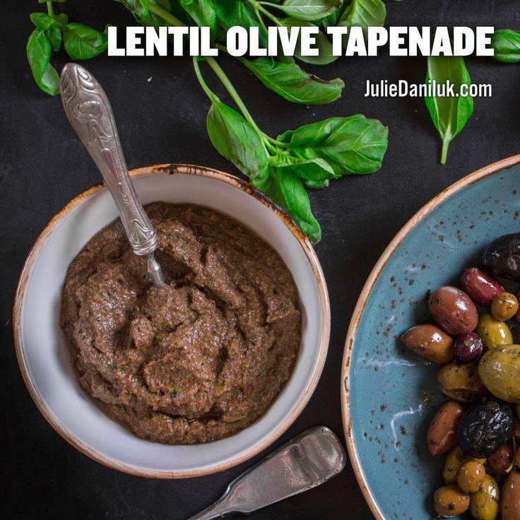 Lentil Olive Tapenade