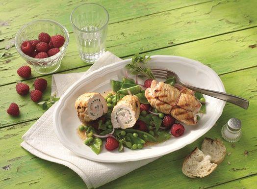 1000 images about raffinierte salate mit h hnchen und putenfleisch on pinterest. Black Bedroom Furniture Sets. Home Design Ideas