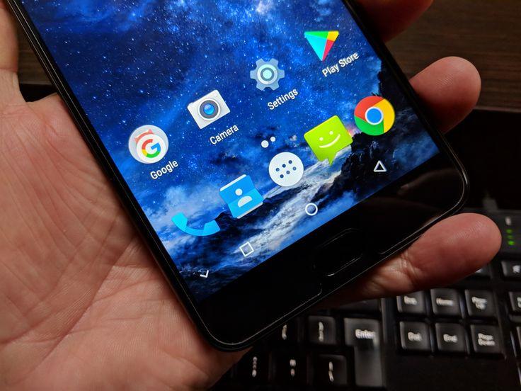 UHANS Max 2: OS, UI, aplicaţii - Android 7.0 Nougat stock, curat, fără probleme