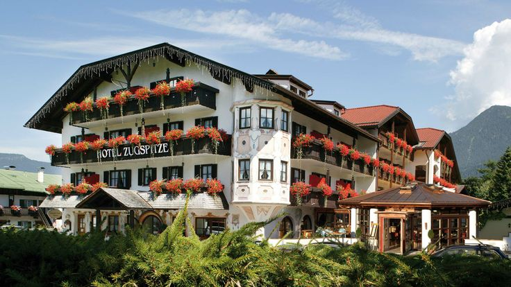 Welcome to Hotel Zugspitze in Garmisch-Partenkirchen -- the 1936 winter olympics were held in Garmisch Partenkirchen