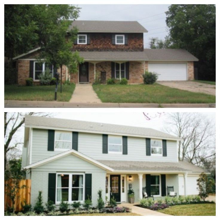 Before & After Fixer Upper | DIY for a happy you | Pinterest