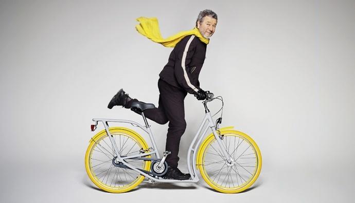 Французский дизайнер предметов декора Филипп Старк и автомобильная компания Peugeot представили совместный проект — прототип городского велосипеда с забавным названием Pibal