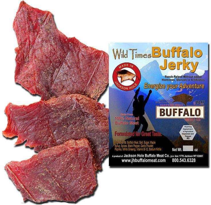 Wild Times Buffalo Jerky 4oz – JH Buffalo & Elk Meat For Sale