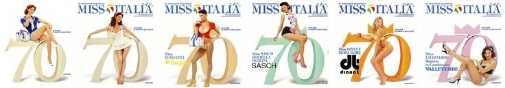 Miss Italia, 70° anniversario, Campagna Affissioni...