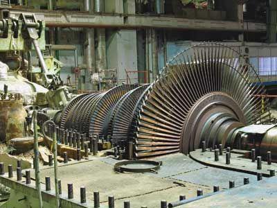 Turbina de vapor de baja presión