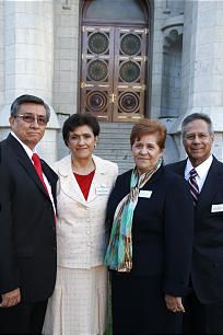 """LDS Church News - Temple presidents, matrons are counseled in annual seminar.  As Parents aren't we responsible for  our """"temples"""" (Homes). too?  Great words to ponder and discuss."""
