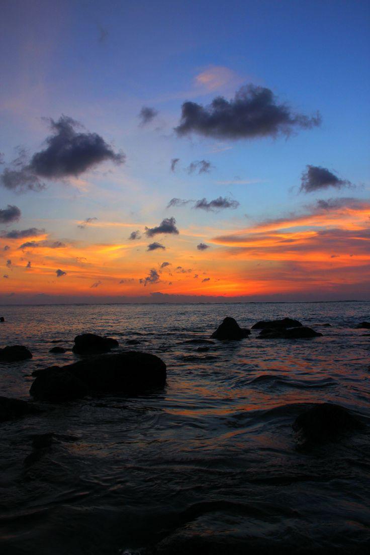 sunset kuta-bali,,indonesia