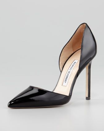 Manolo Blahnik pumps #fashiontrends