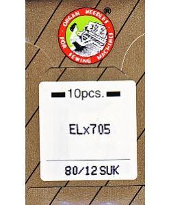 Overlocknadeln EL x 705 SUK 10er Pack St. 80 im nähPark kaufen